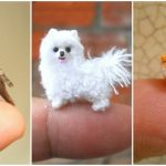 These Miniature Crochet Animals Are So Tiny, They Will Sit On Your Finger Tip