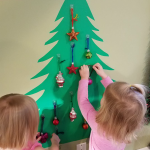 Toddler Proof Wall Christmas Tree