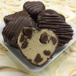 Cookie Dough Heart Truffles