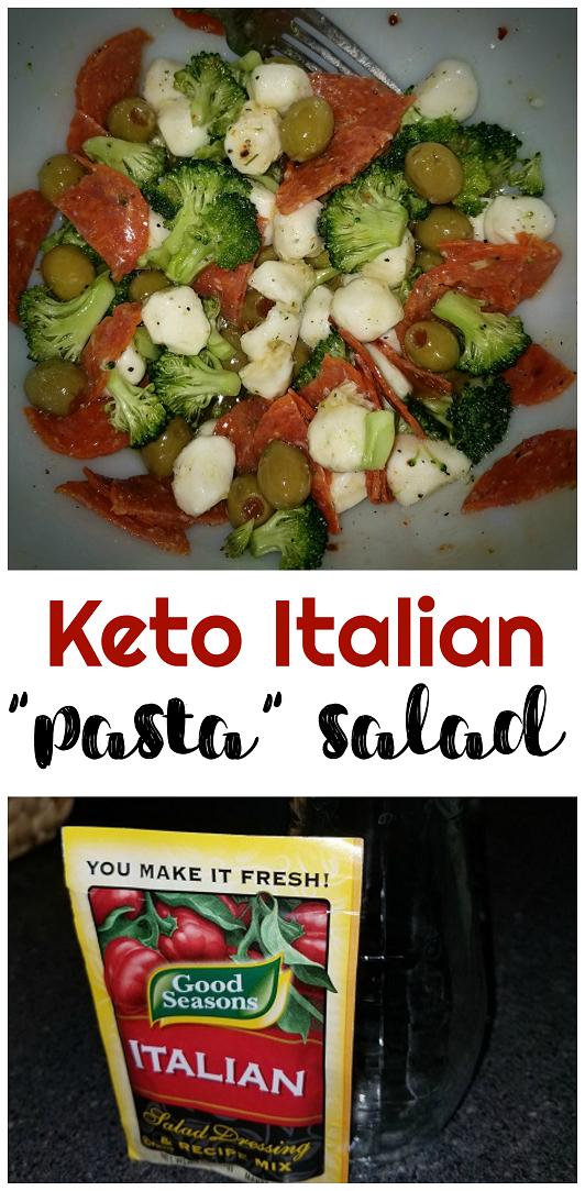 Keto No Pasta – Italian Pasta Salad