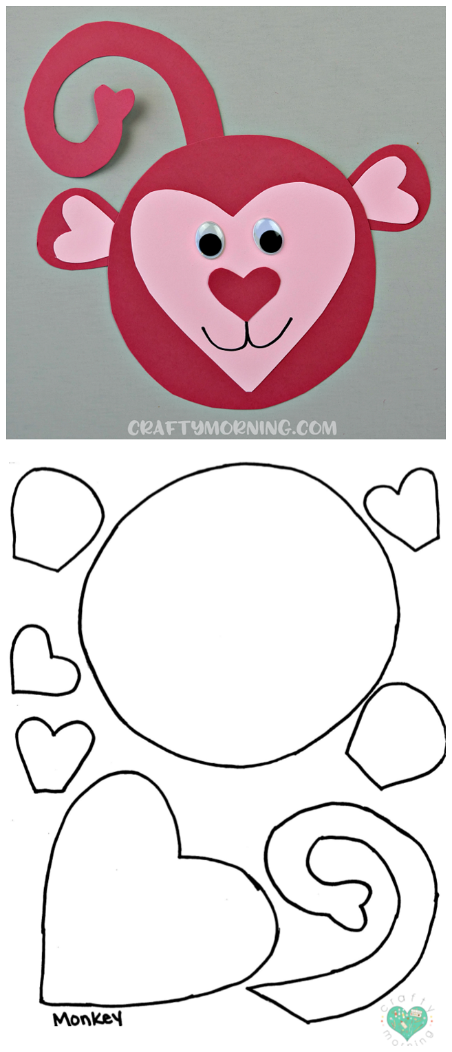 It is a graphic of Free Printable Animal Templates in easy