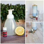 DIY Essential Oil Foaming Hand Soap