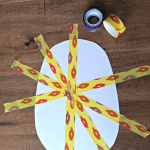 Easter Egg Tape Craft
