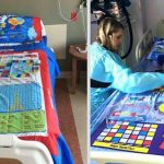 Dad Turns Board Games into Bed Sheets So Sick Kids Lying in Hospitals Won't Get Bored