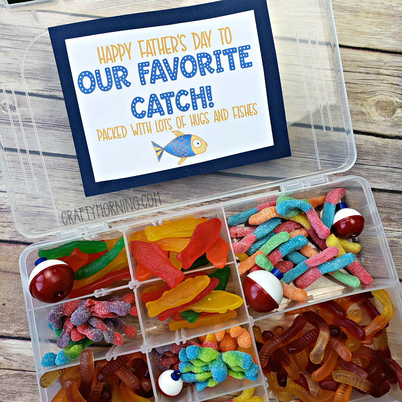 Tackle Box Candy Father's Day Gift