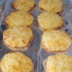 Keto Cheesy Garlic Biscuits