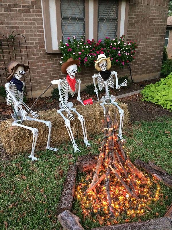 Halloween Campfire Decoration Idea Crafty Morning