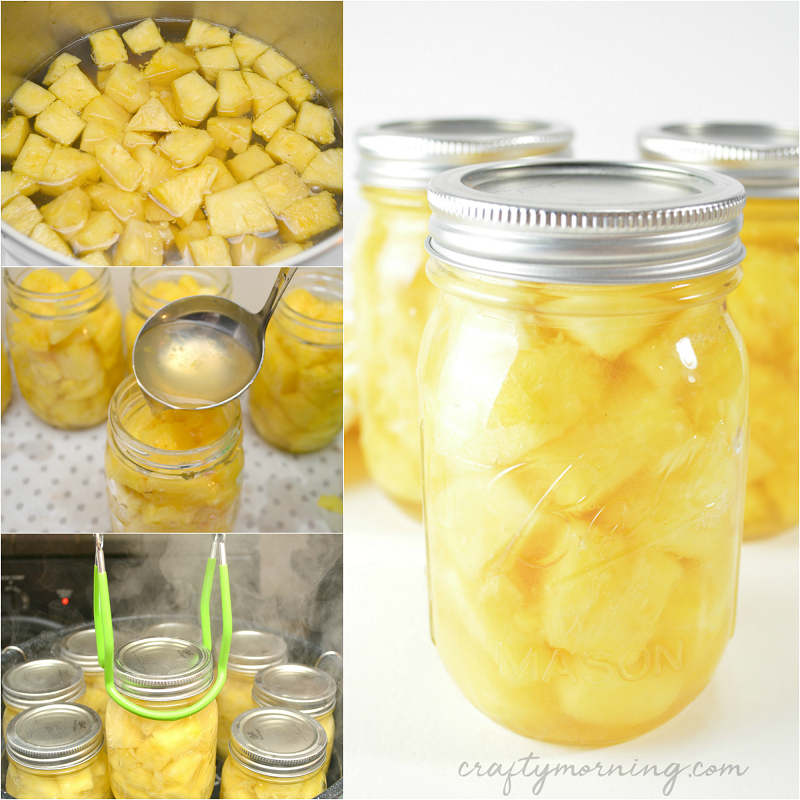 How to Can Pineapple and Save Money