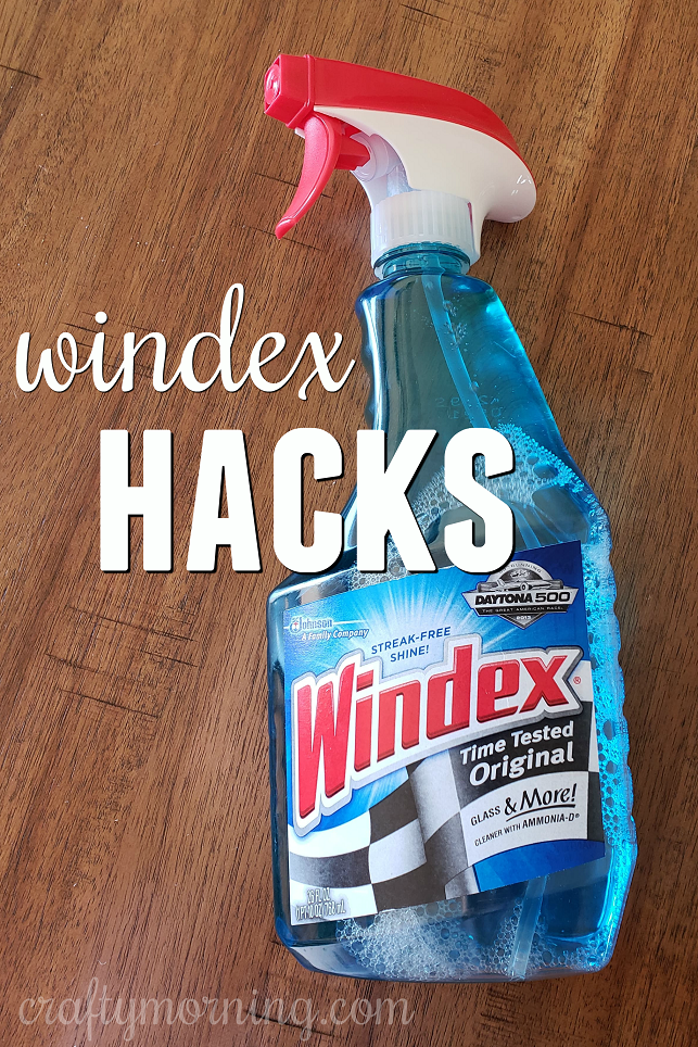 11 Windex Hacks To Try Crafty Morning