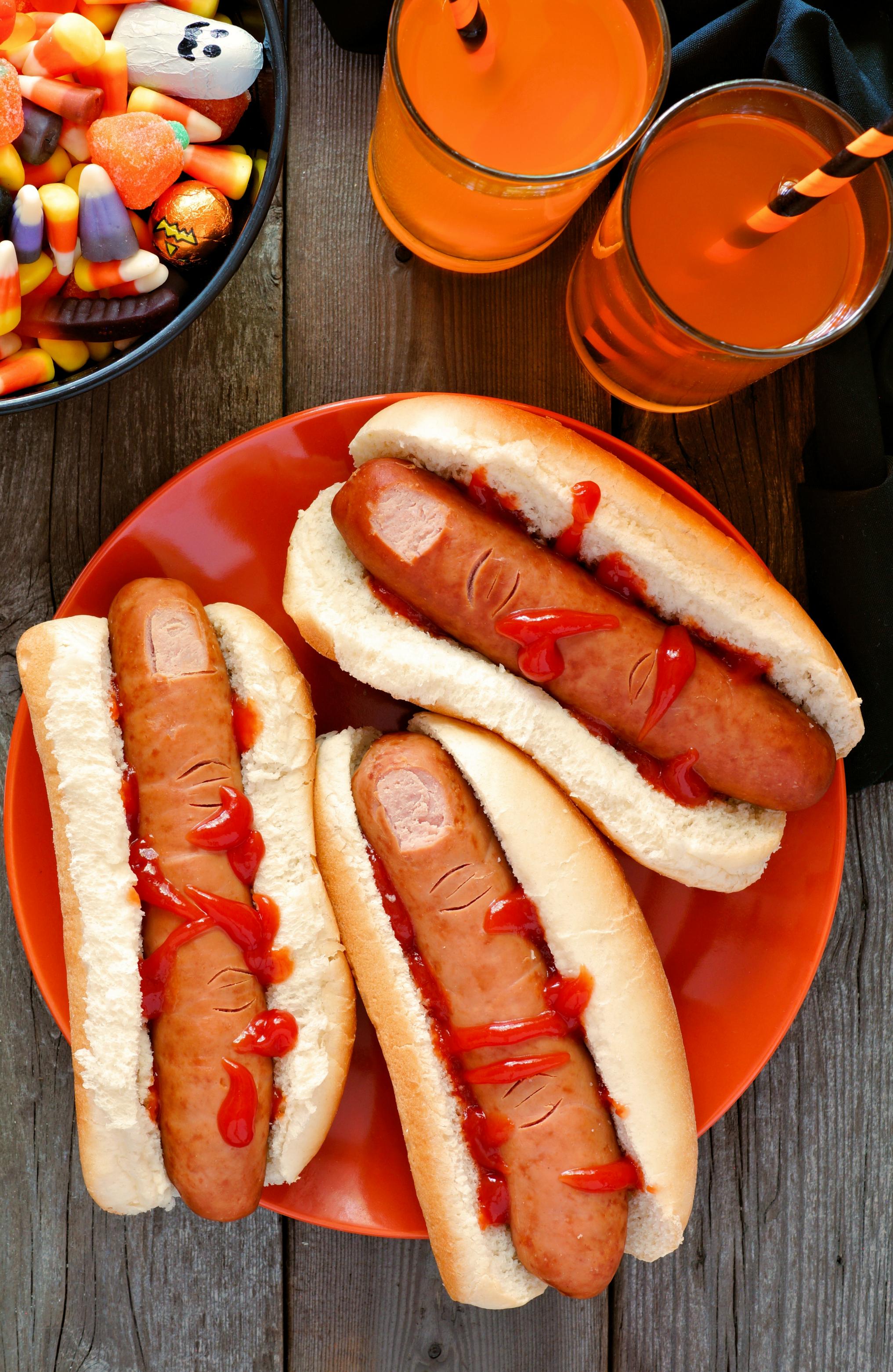 Finger Hot Dogs