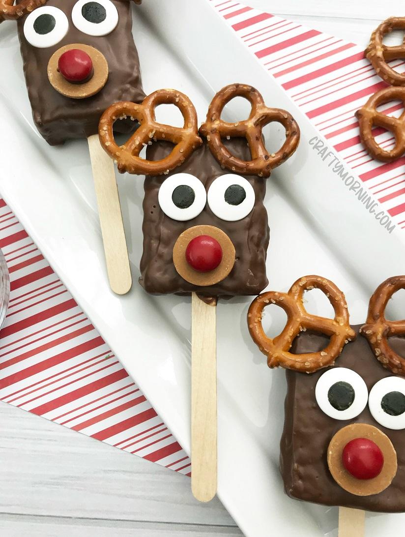 Reindeer Rice Krispies Crafty Morning