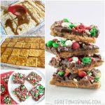 Christmas Toffee Crack Using Saltine Crackers