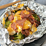 Chicken Bacon Ranch Foil Packets