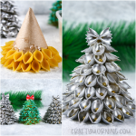 3D Pasta Christmas Trees