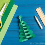 Pop-Up Christmas Tree Craft