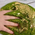 St. Patrick's Day Gold Leaf Slime