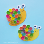 Quilled Paper Snail Craft