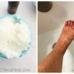 Exfoliating Salt Scrub- Remove Dead Skin Cells & Get Glowing Skin Again