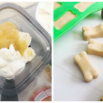 All Natural Frozen Banana Dog Treats…Keeps them Cool in the Summer!