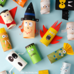Toilet Paper Roll Halloween Characters