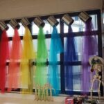 Pouring Paint Can Curtains