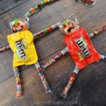 Candy Pumpkin People Treats