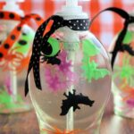 DIY Halloween Soap Bottles