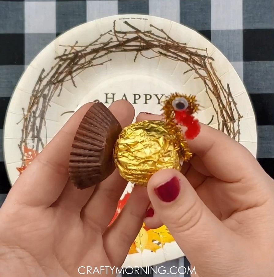 Ferrero Rocher Turkey Treats