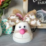 Flower Pot Bunny Craft