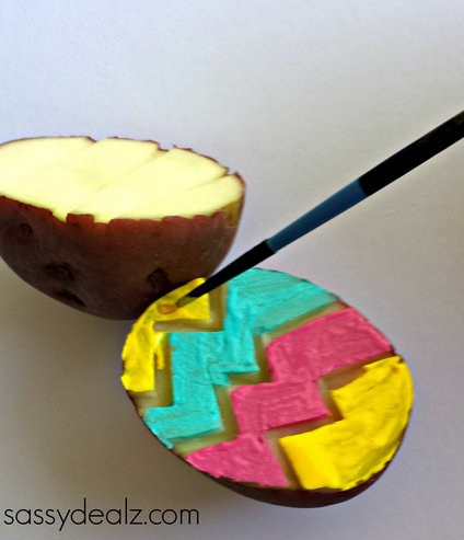 potato-stamp-craft-