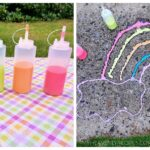 How to Make Outdoor Sidewalk Chalk Paint