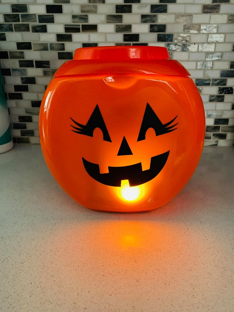 Tide Pod Container Pumpkin Crafty Morning