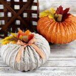 How to Make Dryer Vent Pumpkins