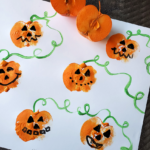 Crab Apple Stamped Pumpkins
