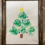 Paw Print Christmas Tree Keepsake