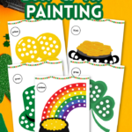 St. Patrick's Day Q-Tip Painting Printables