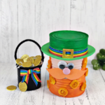 Recycled Can Leprechaun Craft