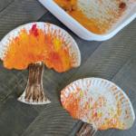 Acorn Shake Painting: Fall Tree Craft